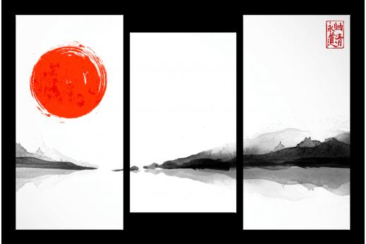 Модульная картина Китайская живопись